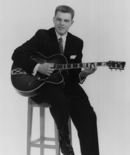 Ron Photo with guitar 1958